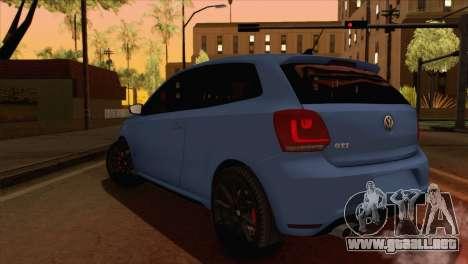 Volkswagen Polo GTi 2014 para GTA San Andreas left