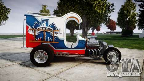Ford C-Cab 1967 Chuck Miller Ambulance para GTA 4 left
