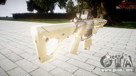 Rifle AR-15 CQB destino typeeotech para GTA 4 segundos de pantalla