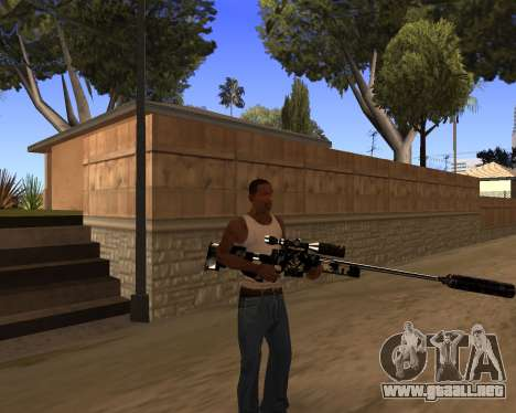 Hitman Weapon Pack v1 para GTA San Andreas sucesivamente de pantalla