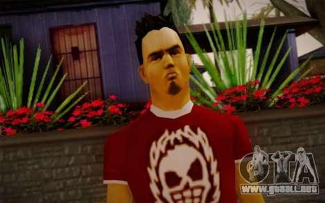 Ginos Ped 32 para GTA San Andreas tercera pantalla