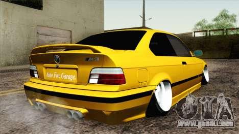 BMW M3 E36 Camber Style para GTA San Andreas left