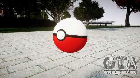 Granada Pokeball para GTA 4 segundos de pantalla