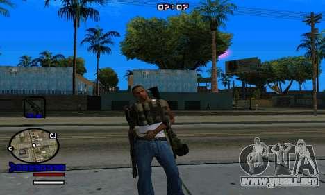 C-HUD Normal para GTA San Andreas sexta pantalla