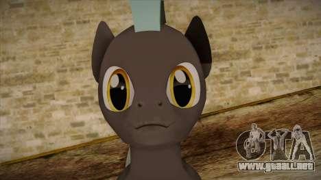 Thunderlane from My Little Pony para GTA San Andreas tercera pantalla