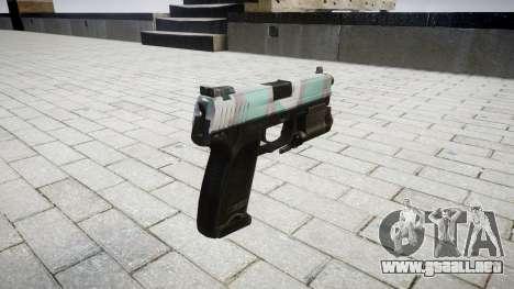 La pistola HK USP 45 varsovia para GTA 4 segundos de pantalla