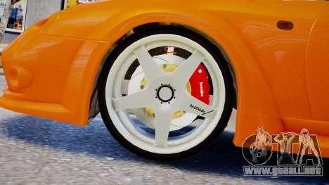 Toyota Supra VeilSide Fortune 03 v1.0 para GTA 4 Vista posterior izquierda