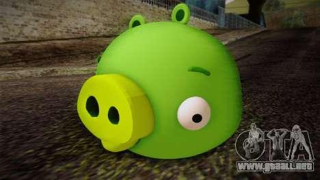 Pig from Angry Birds para GTA San Andreas