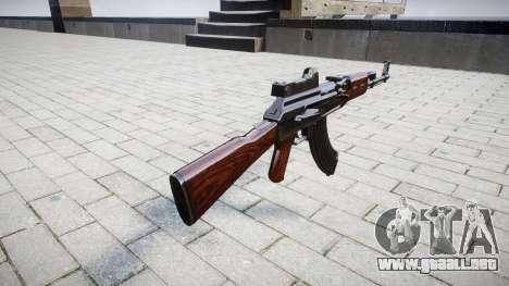 El AK-47 Colimador para GTA 4 segundos de pantalla