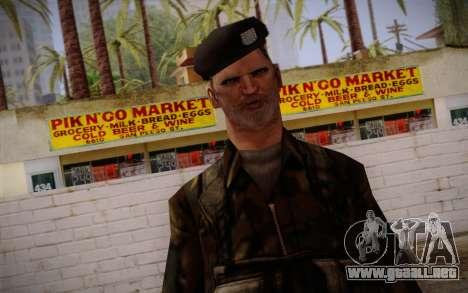 Soldier Skin 2 para GTA San Andreas tercera pantalla