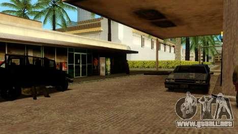 La recuperación de las estaciones de Los Santos para GTA San Andreas octavo de pantalla