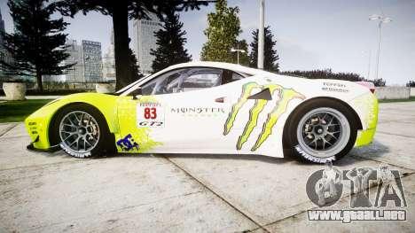 Ferrari 458 GT2 para GTA 4 left