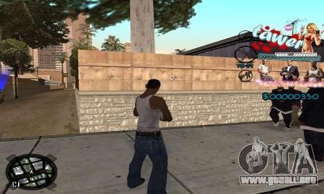 C-HUD Tawer GTA 5 para GTA San Andreas tercera pantalla
