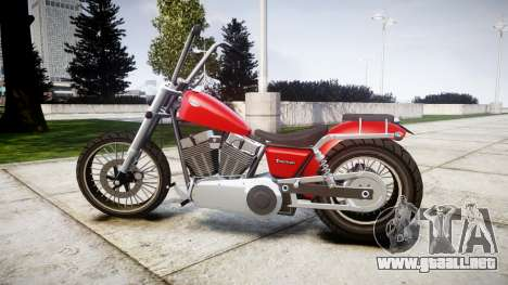 Western Motorcycle Company Daemon para GTA 4 left
