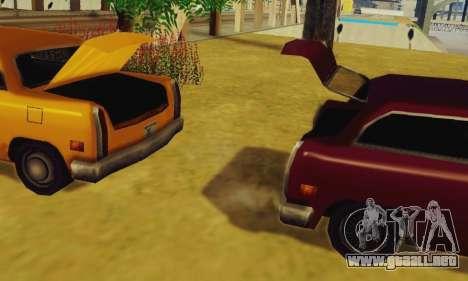 Cabbie Wagon para la visión correcta GTA San Andreas