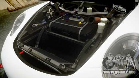 RUF RGT-8 GT3 [RIV] YCA para GTA 4 vista interior