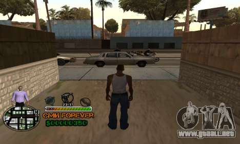 C-HUD СМИ PARA SIEMPRE para GTA San Andreas segunda pantalla