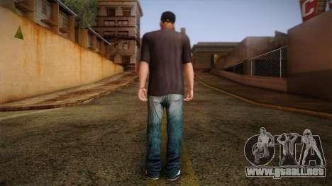 Gedimas Wmybar Skin HD para GTA San Andreas segunda pantalla