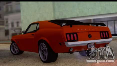 Ford Mustang Boss 429 1970 para GTA San Andreas left