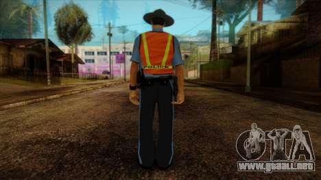 Missouri Highway Patrol Skin 1 para GTA San Andreas segunda pantalla