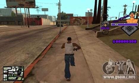C-HUD King Of Detroit para GTA San Andreas tercera pantalla