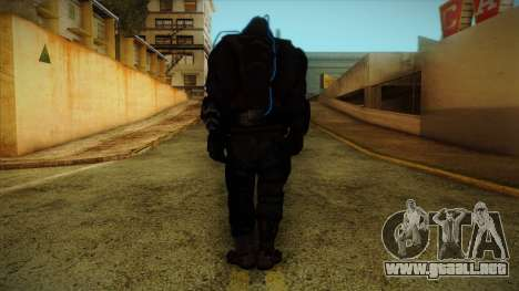 Super Soldier from Prototype 2 para GTA San Andreas segunda pantalla