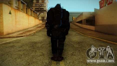 Super Soldier from Prototype 2 para GTA San Andreas segunda pantalla