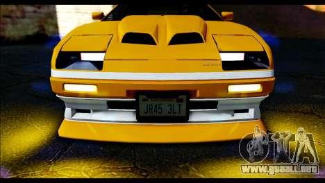 GTA 5 Ruiner Tuning para GTA San Andreas vista posterior izquierda