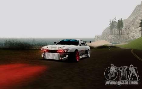 Nissan Silvia S14 VCDT V2.0 para visión interna GTA San Andreas