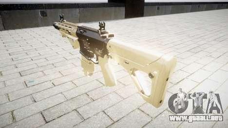 Rifle AR-15 CQB para GTA 4 segundos de pantalla