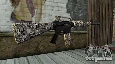 Nuevo Rifle De Asalto para GTA San Andreas segunda pantalla