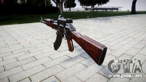 El AK-47 Colimador de destino para GTA 4 segundos de pantalla