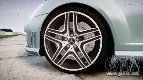 Mercedes-Benz S65 W221 AMG v2.0 rims1 para GTA 4 vista hacia atrás