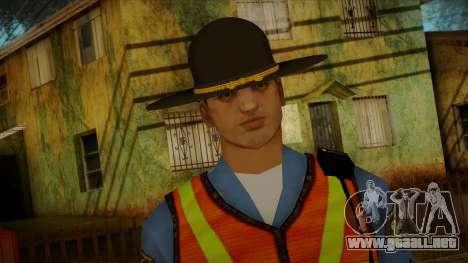 Missouri Highway Patrol Skin 1 para GTA San Andreas tercera pantalla