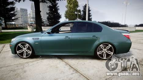 BMW M5 E60 v2.0 Stock rims para GTA 4 left
