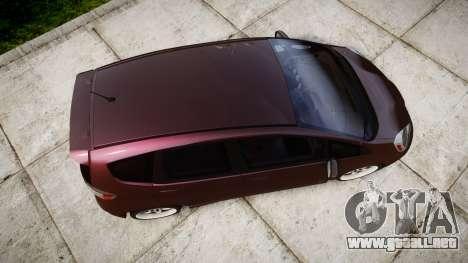 Honda Fit 2006 para GTA 4 visión correcta