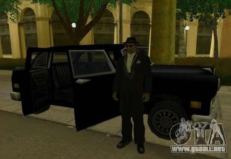 Cabbie Restyle para la visión correcta GTA San Andreas