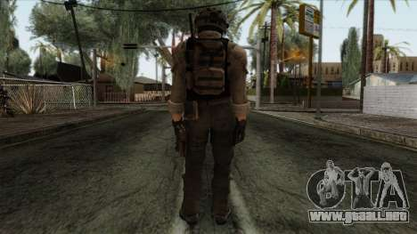 Modern Warfare 2 Skin 15 para GTA San Andreas segunda pantalla