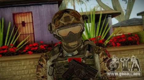 Army Skin 2 para GTA San Andreas tercera pantalla