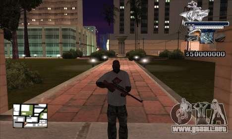 C-HUD Shark para GTA San Andreas segunda pantalla
