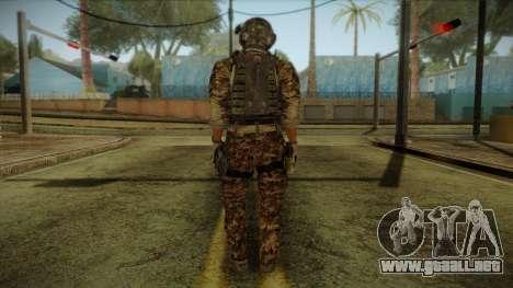 Army Skin 2 para GTA San Andreas segunda pantalla