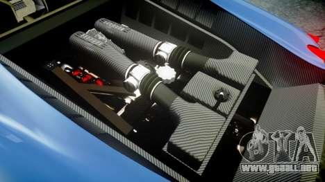 Ferrari F430 Scuderia 2007 plate Scuderia para GTA 4 vista lateral