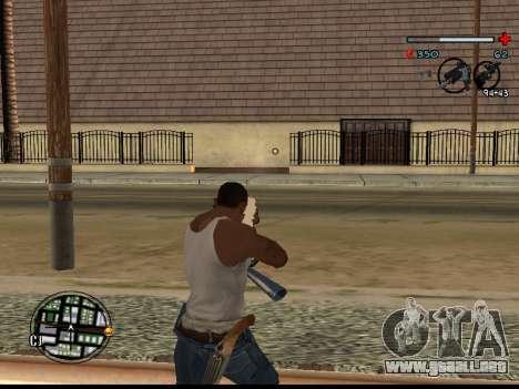 C-HUD Good para GTA San Andreas tercera pantalla