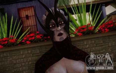 Benezia Beta Final from Mass Effect para GTA San Andreas tercera pantalla