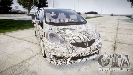 Honda Fit 2006 Sharpie para GTA 4