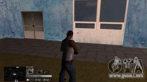 C-HUD Silver para GTA San Andreas segunda pantalla