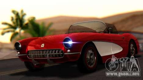 Chevrolet Corvette C1 1962 para GTA San Andreas