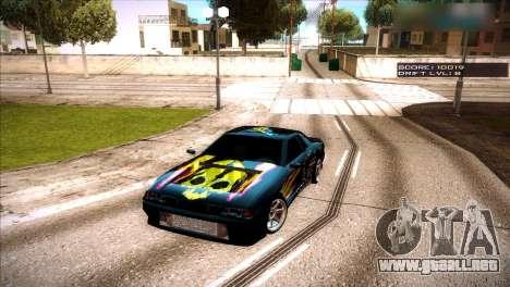 Vinilos para Elegía para GTA San Andreas segunda pantalla