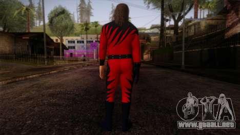 Kane Masked from  Smackdown Vs Raw para GTA San Andreas segunda pantalla