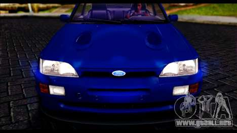 Ford Escort RS Cosworth para la visión correcta GTA San Andreas